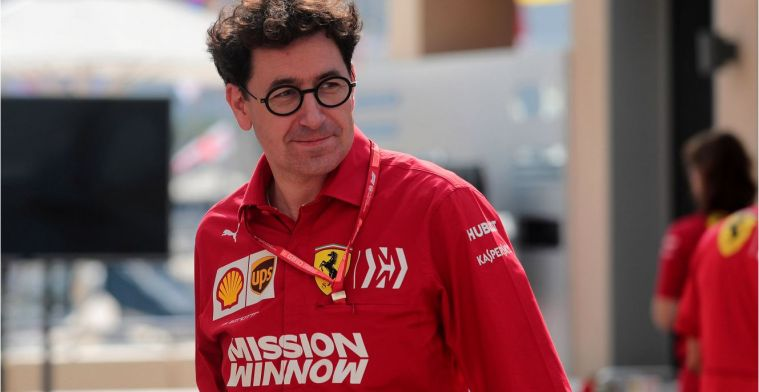 Binotto over Vettel en Leclerc: Het is niet moeilijk om ze te managen