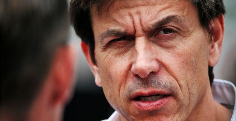 Wolff ziet Ferrari en Red Bull voor 2020 als grotere bedreiging