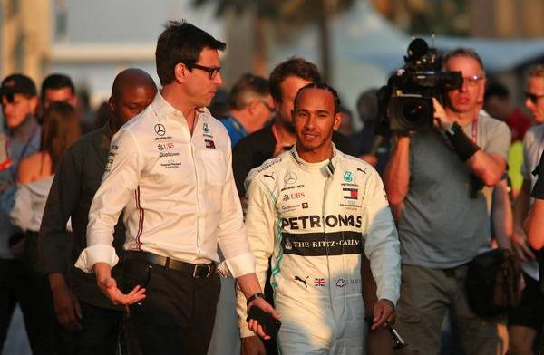 Wolff: Don't want to talk about the best moment of 2019