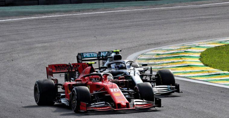 Costa vergelijkt Ferrari en Mercedes: Zelfs de bartender zorgt voor extra druk
