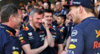 """Afbeelding: Verstappen pikt Red Bull-gasten met brandende remmen op: """"Is dit normaal?"""""""