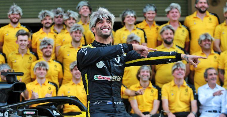 """Ricciardo over mentaal zwaarste overwinning: """"Reed vier seconden langzamer"""