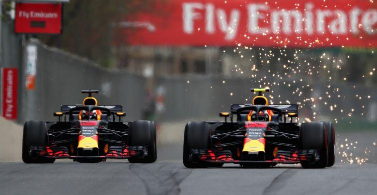 Ricciardo blikt terug op Baku-crash met Verstappen: Dit verdienden ze
