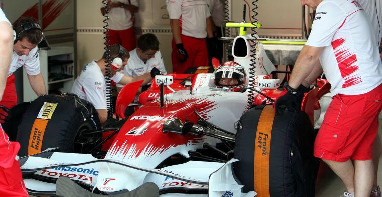 De opkomst, het scheuren richting de top en de ondergang van Toyota in de F1