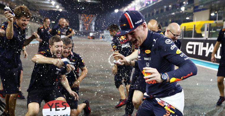 Verstappen: Fase van loyaliteit bij Red Bull voorbij, maar voel me hier fijn