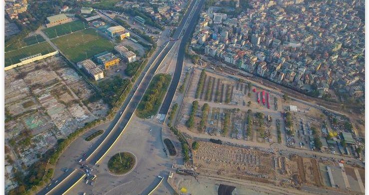 Hanoi onthult aangepaste en definitieve lay-out circuit Grand Prix Vietnam