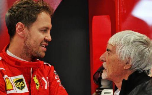 Ecclestone: ''Als die zo doorgaat, rijdt hij in 2021 niet meer Formule 1''
