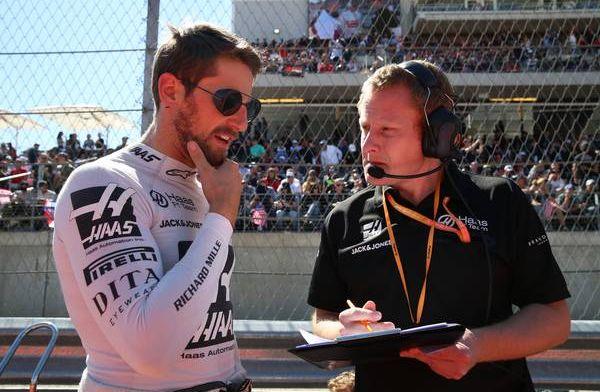 Grosjean ziet verbeterpunt ten opzichte van teamgenoot: ''Dit moet beter''