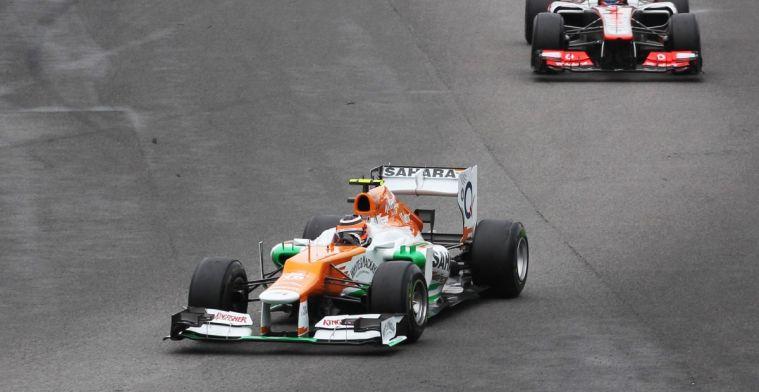 Hulkenberg kon herhaling van GP Brazilië 2012 bijna niet aanzien