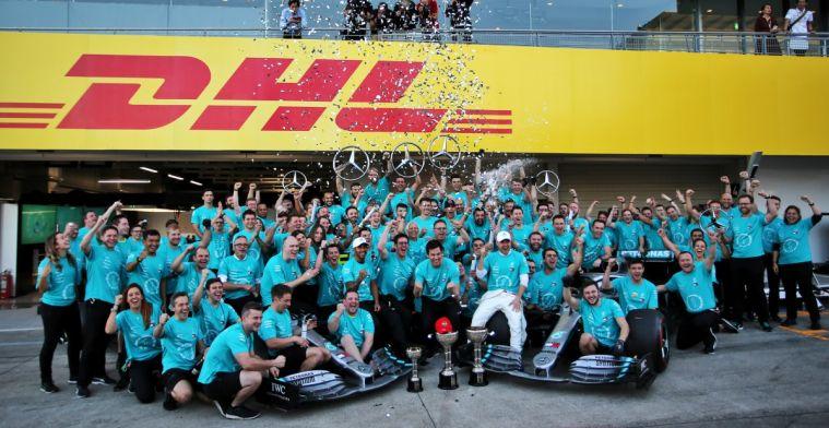 Is Mercedes het meest superieure team ooit?