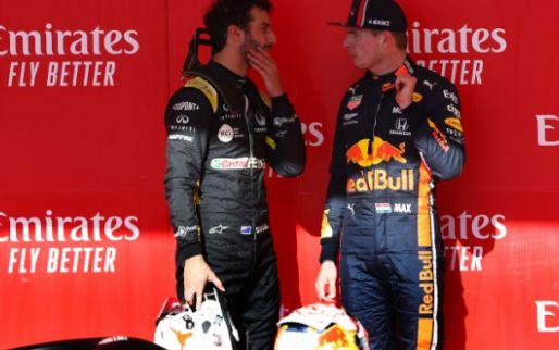 Ricciardo ziet Verstappen wereldkampioen worden: