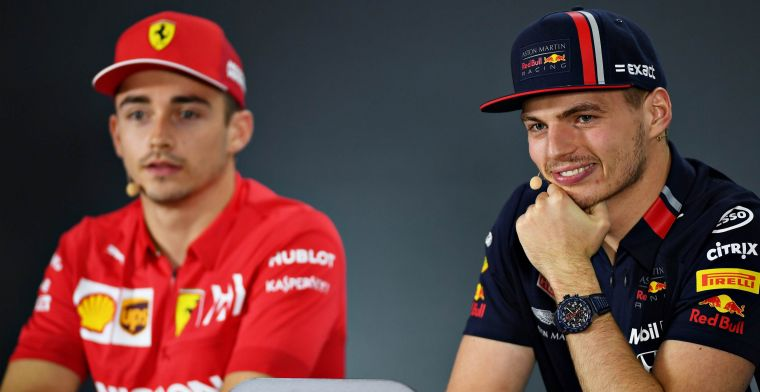 Verstappen over mogelijke tweestrijd met Leclerc: Hoop op meer coureurs