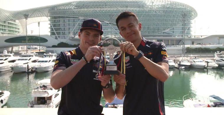 Verstappen en Albon toch nog 'kampioen' in de Formule 1 dit seizoen