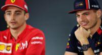 """Afbeelding: Verstappen over mogelijke tweestrijd met Leclerc: """"Hoop op meer coureurs"""""""