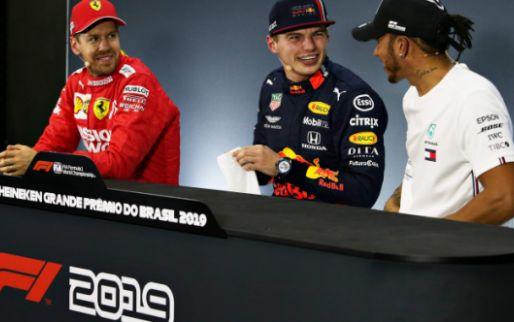 Vettel gaat Verstappen kerstkaart sturen: