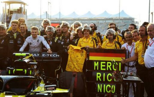 Carlos Sainz praises Nico Hulkenberg: