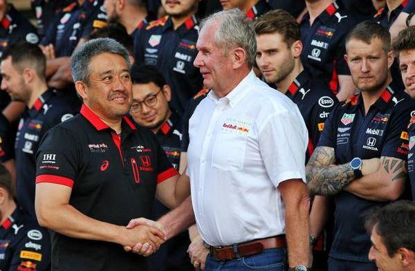 """Marko over mooi gebaar Japanse baas Honda: """"Zoiets wil je bewaren"""""""