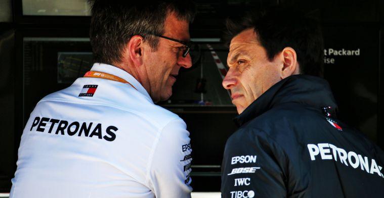 Mercedes vreest Ferrari en Red Bull: Moeten de auto aanzienlijk sneller maken