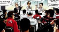 Afbeelding: Ecclestone neemt wedstrijdleiding in de maling met kerstkaart