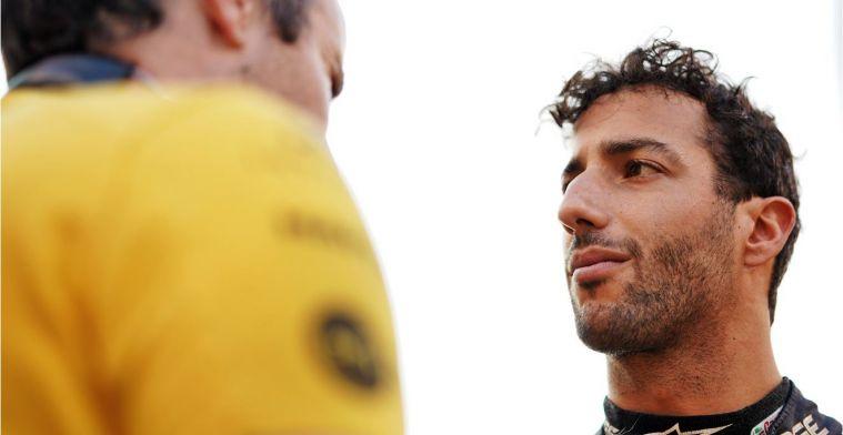Ricciardo: Ik ben niet tot het punt gekomen dat ik spijt had