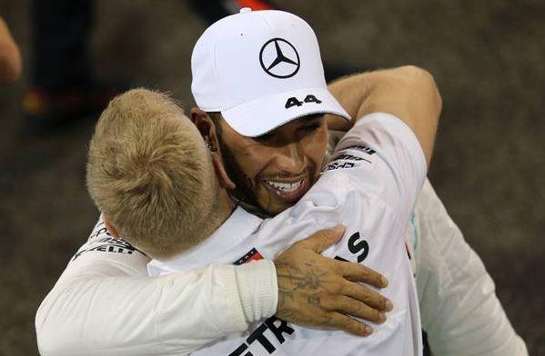 Hamilton herinnert zich: Lauda had eerst niet zo'n hoge pet op van mij