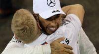 """Afbeelding: Hamilton herinnert zich: """"Lauda had eerst niet zo'n hoge pet op van mij"""""""