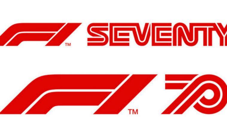 Formule 1 presenteert voor 2020 nieuw logo vanwege zeventigste verjaardag