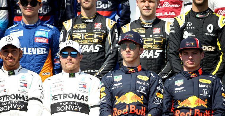 Vijfde van de F1-grid van 2021 al bekend na contractverlenging Max Verstappen