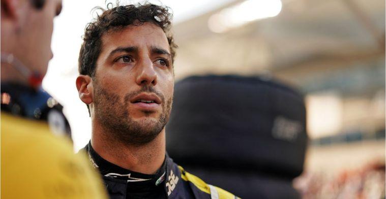Ricciardo heeft nog niet met Renault gesproken over contract na 2020
