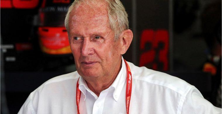 Helmut Marko praises Max Verstappen for first year as team leader
