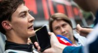 """Image: George Russell: Getting Pirelli tyres to work is """"like completing a Rubick's cube"""""""