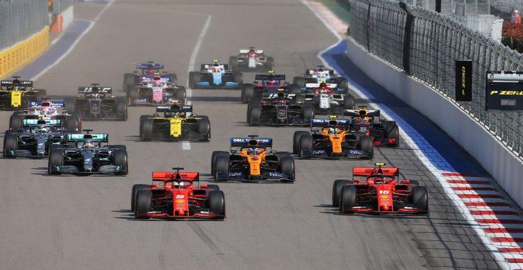 Starttijden Grands Prix 2020 bekendgemaakt: GP Nederland begint om 15:10!