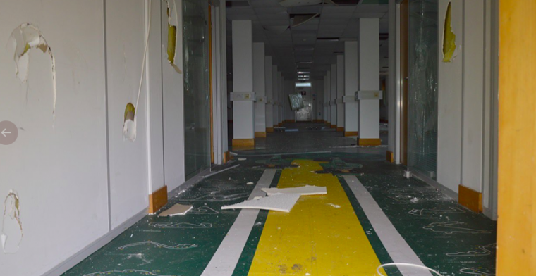 View: Caterham F1 factory lies in ruin just five years after final Formula 1 race
