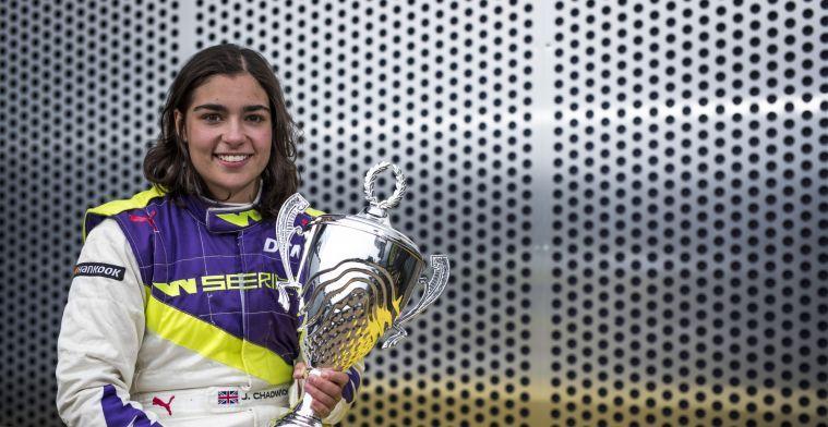 W Series-winnaar Chadwick blikt vooruit: Of het nu Formule 3 of Formule 2 is