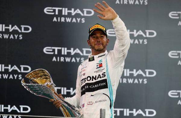 Hamilton: Hij en ik zijn de beste partners die F1 ooit gezien heeft
