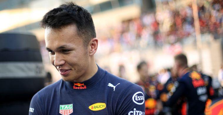 Alexander Albon krijgt pas in 2020 zijn eerste échte kans in Formule 1