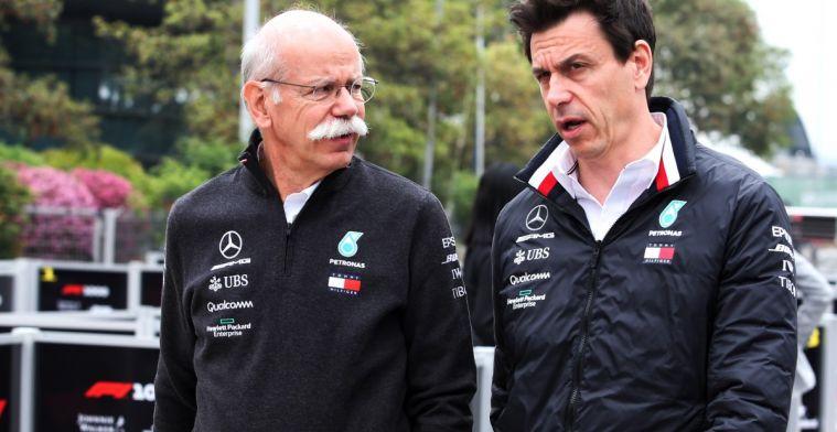 Toto Wolff's eerste taak als teambaas bij Mercedes was vragen om meer budget