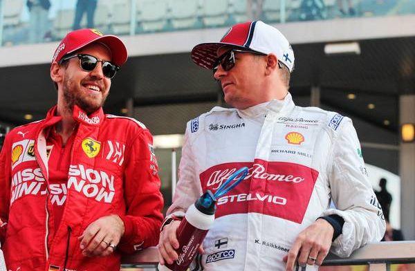 Wat als Raikkonen in 2019 bij Ferrari had gereden in plaats van Leclerc?