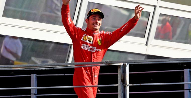 Leclerc: Ik voel mij nu onderdeel van Ferrari's geschiedenis