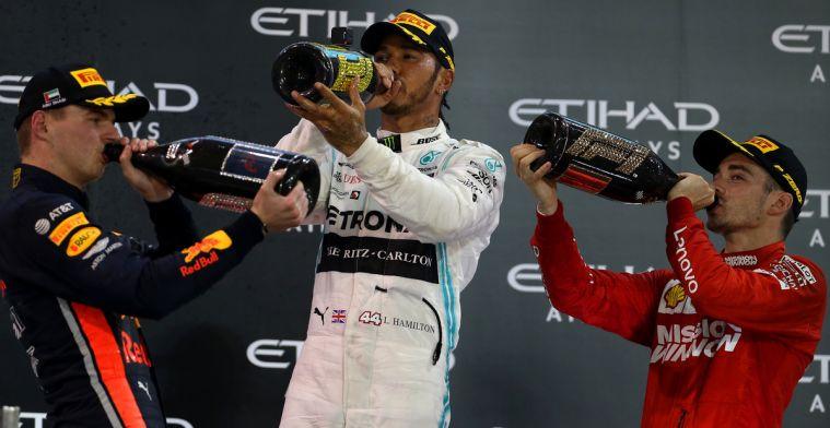 'Verstappen heeft zeker niet het racebrein van Hamilton'