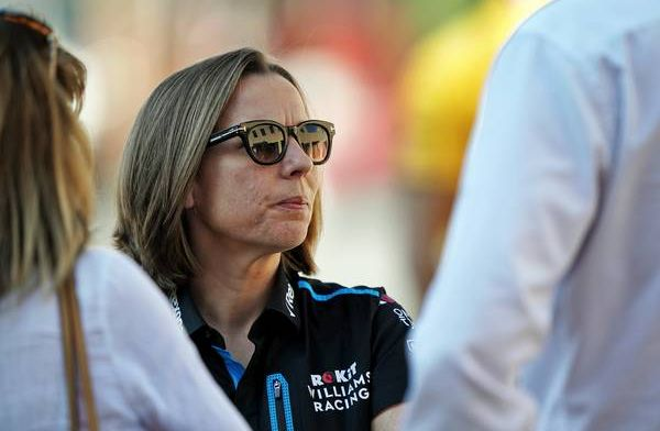 Claire Williams says team need to modernise: Company still has post-it notes