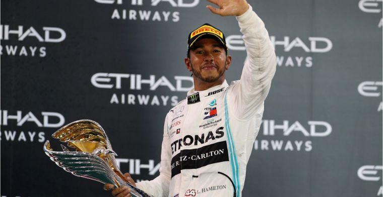 Hamilton is de meest hardwerkende coureur die ik ooit ben tegengekomen