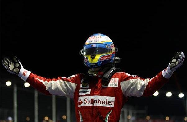Alonso heeft weerwoord voor Ferrari: Misschien behoren ze niet tot favorieten
