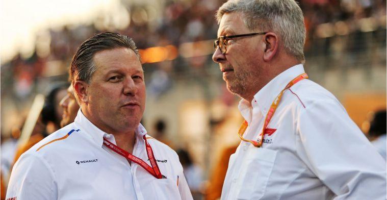 Zak Brown: 'De F1 moet de fans niet uit het oog verliezen'