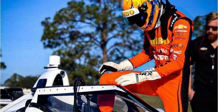 Van Kalmthout veruit het snelste bij IndyCar-test