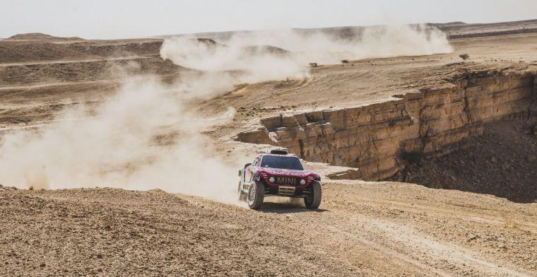 Uitslag Dakar Rally etappe 9: Klassement ongemeen spannend na tijdverlies Sainz
