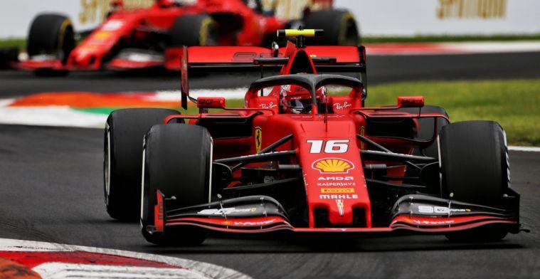 Geruchten uit Maranello wijzen op aanpassing die Ferrari op Red Bull laat lijken