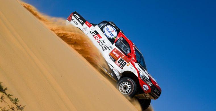 Dakar Rally 2020 | Beelden van crash Alonso; duintop fungeert als springschans