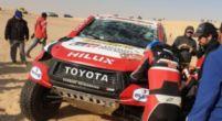 Afbeelding: Tweede grote crash voor Alonso in Dakar Rally, ditmaal met koprol