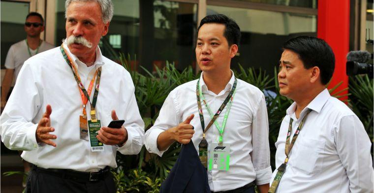 Vietnamese Grand Prix heeft oranje tribune voor Verstappen fans